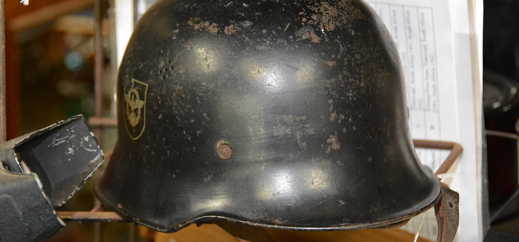 German World War II helmet