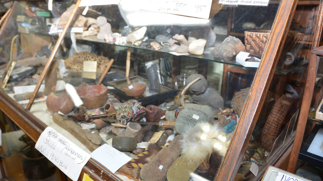 Native American Indian artifacts at Attic Treasures Antiques