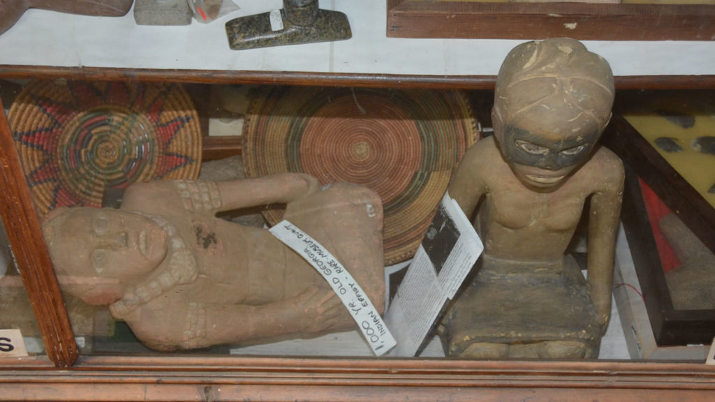Native American Indian effigies at Attic Treasures Antiques